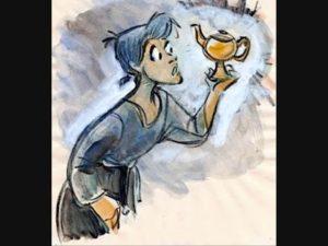 Aladinova zázračná lampa (audio rozprávka)