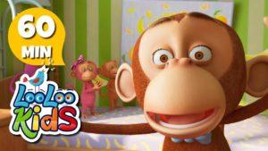 Five Little Monkeys (anglické pesničky)
