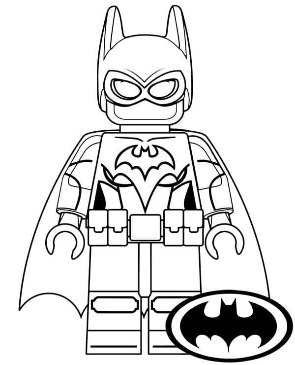 Omaľovánka - Batman