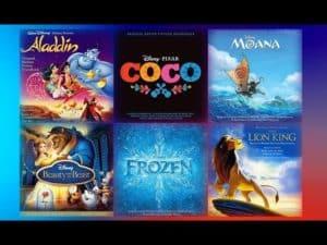 Disney pesničky a rozprávky