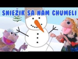 Hanička a Murko: Sniežik sa nám chumelí (pesnička)