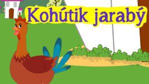 Kohútik jarabý (detská pesnička)