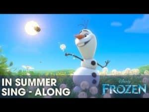 Ľadové kráľovstvo - In summer (pesnička)