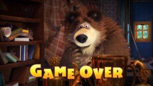 Máša a medveď - Koniec hry