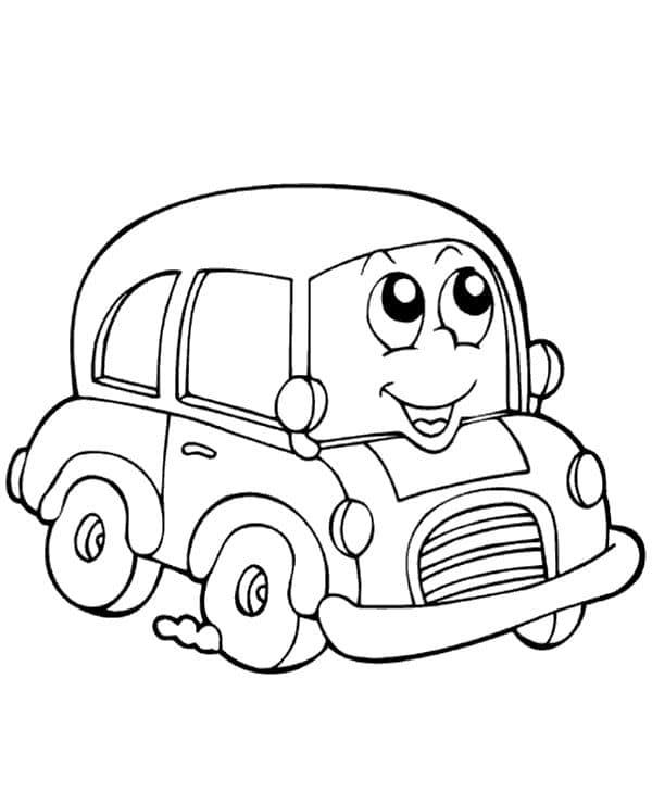 Omaľovánka - Auto - 12