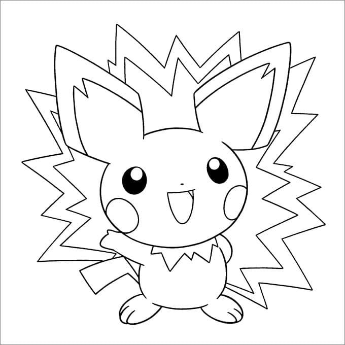 Omaľovánka - Pokemón