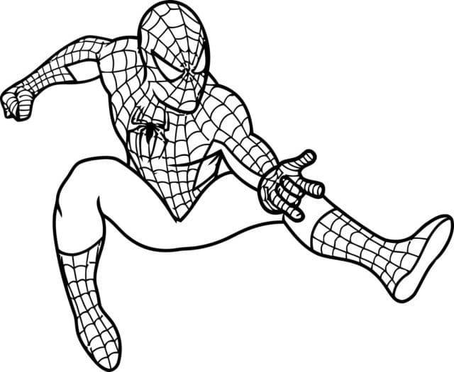 Omaľovánka Spiderman