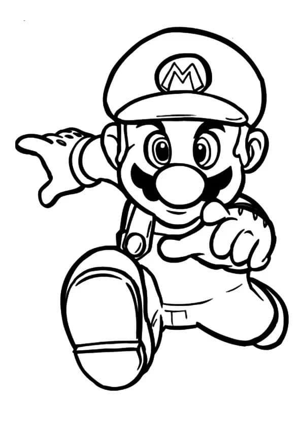 Omaľovánka - Super Mario - 2