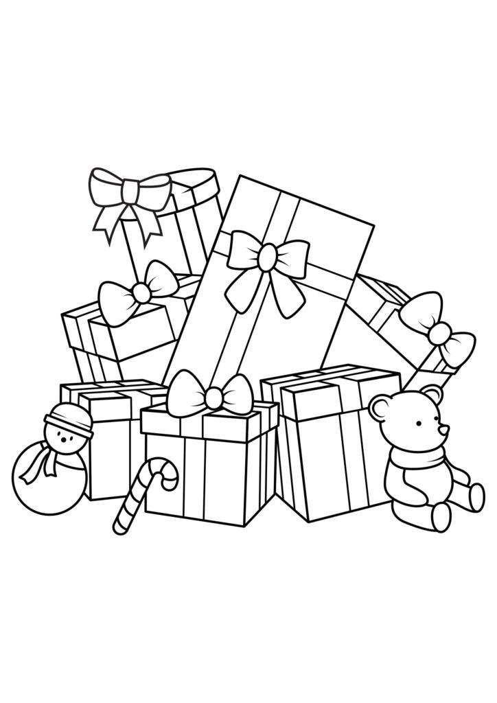 Omaľovánka - Vianoce - 12