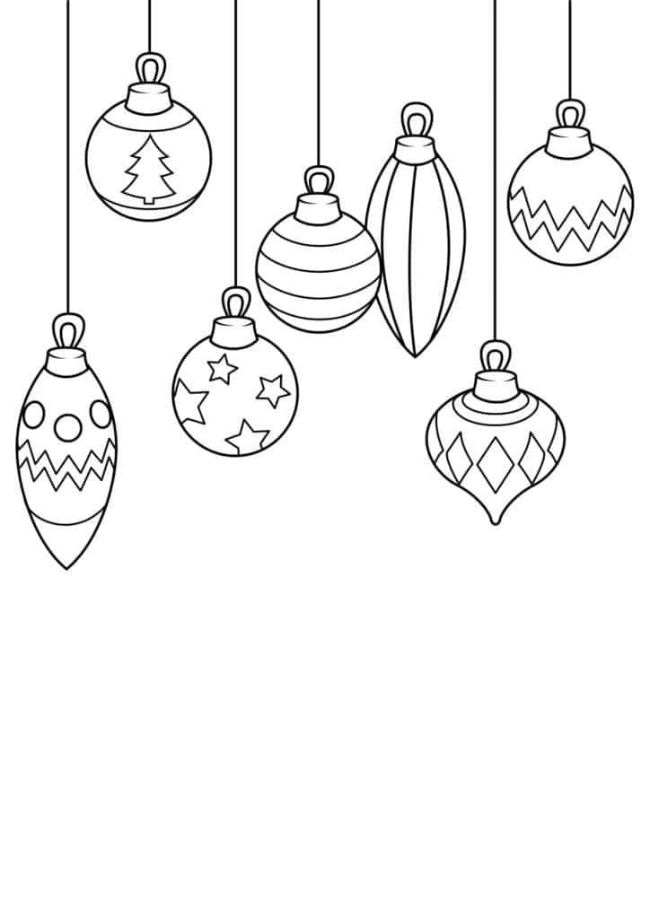 Omaľovánka - Vianoce - 7