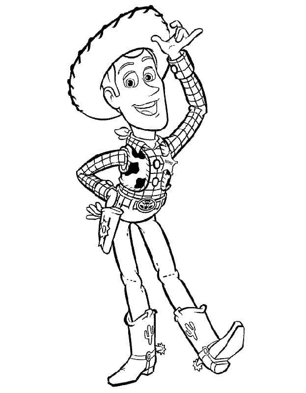 Omaľovánka - Toy Story