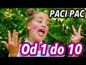 Paci Pac: Od 1 do 10 (pesnička)