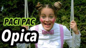 Paci Pac: Opica (pesnička)
