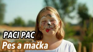 Paci Pac: Pes a mačka (pesnička)
