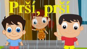 Prší, prší, len sa leje (pesnička pre deti)