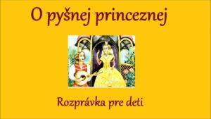 O pyšnej princeznej (audio rozprávka)