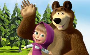 Rozprávka - Máša a medveď