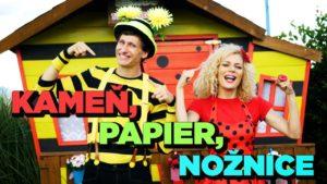 Smejko a Tanculienka: Kameň, papier, nožnice (pesnička)