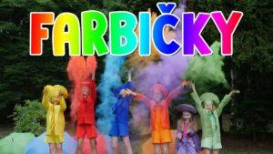 Smejko a Tanculienka: Sestričky farbičky (pesnička)