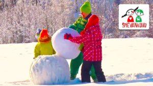 Spievankovo: Postavím si snehuliaka (pesnička)