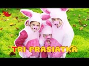 BimBamKuku: Tri prasiatka (rozprávka pre deti)