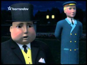 Lokomotíva Tomáš: James a tma (rozprávka)