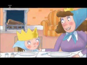 Malá princezná: Nechcem sa česať (rozprávka)