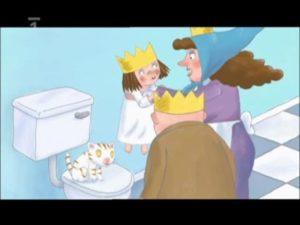 Malá princezná: Nechcem sa kúpať (rozprávka)