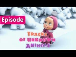 Máša a medveď: Stopy zvierat (anglicky) - rozprávka