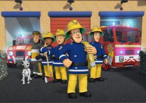Rozprávka Požiarnik Sam