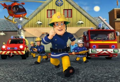 Požiarnik Sam (večerníček)
